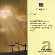 JS Bach: Cantata BWV 82, Cantata BWV 35, Sinfonia Cantata BW