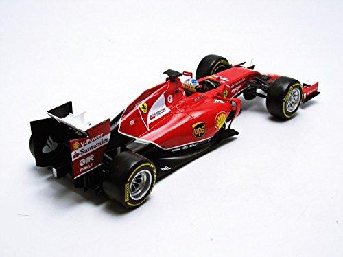Hot Wheels Elite Heritage Ferrari F2014 Fernando Alonso Vehicle (1:18 Scale)