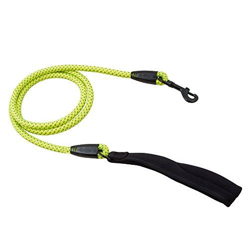 Hurtta hondenriem dazzle rope geel