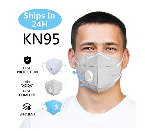 5 Pcs/Staub Kn95 Atemschutzgerät 5 Schichten Anti-Dunst-Anti-Verschmutzung-Atemschutzgerät N95 Atemschutzgerät Pm2.5 Schutzsicherheit Wie Kf94 Ffp3