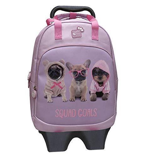Studio PETS rugzak met koffer, 60 cm, 45 liter, meerkleurig