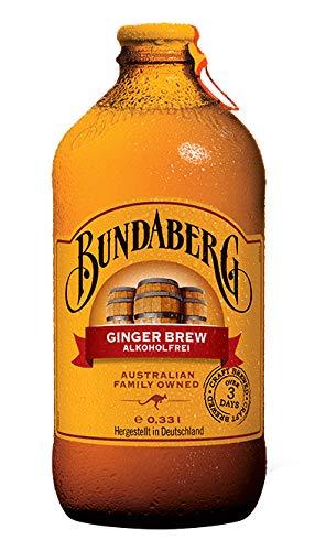 10 Flaschen Bundaberg Ginger Brew a 330ml inc. 0,80 Mehrweg Pfand