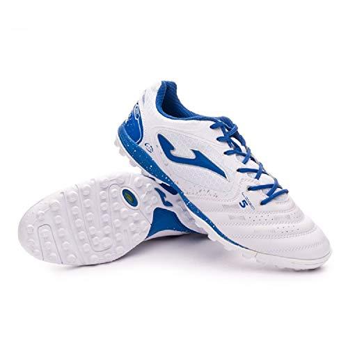 JOMA SPORT - Zapatillas de fútbol Sala de Sintético para Hombre Blanco Bianco