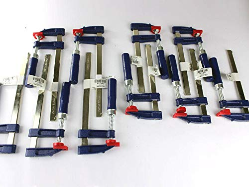 10 x Schraubzwinge Set 150x50 + 200x50 Zwinge Klemmzwinge Einhandzwinge
