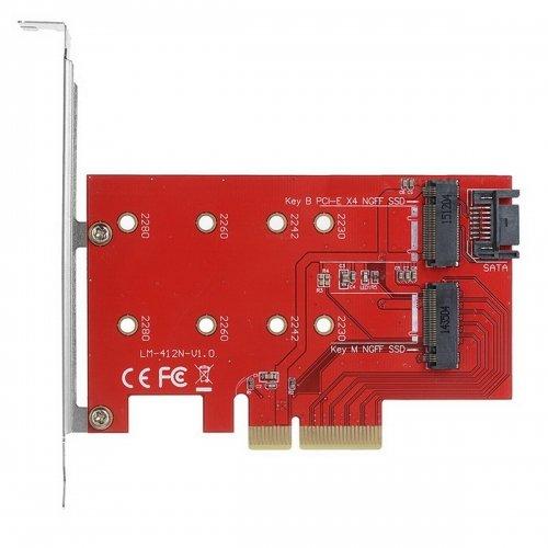 chenyang m.2NGFF 4Lane SSD zu PCI-E 3.0x4& NGFF auf SATA Adapter für xp941sm951pm951A110M6E SSD