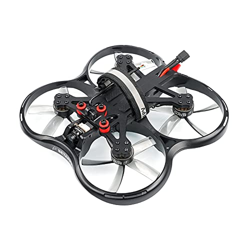 BETAFPV Pavo30 Pusher Whoop Drone Analog VTX 3-inch FPV Quadcopter Frsky LBT with F722 AIO 35A Fligh Controller 1505 3400KV Motor M02 VTX for SMO 4K Camera FPV Filming Racing