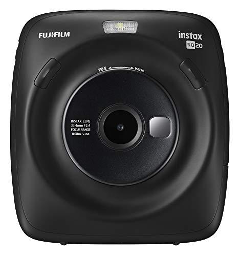 Fujifilm Instax Square SQ20 Instant Film Camera - Black