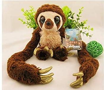 Olalalife Stuffed Animal Pillow 25cm-65cm Original The Crood Long Arm Monkey Belt Plush Toy Soft Stufffed Dolls Gift for Kids