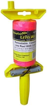 Stringliner 24162 Braided Line Pro Level Wiz Line Reel, Pink