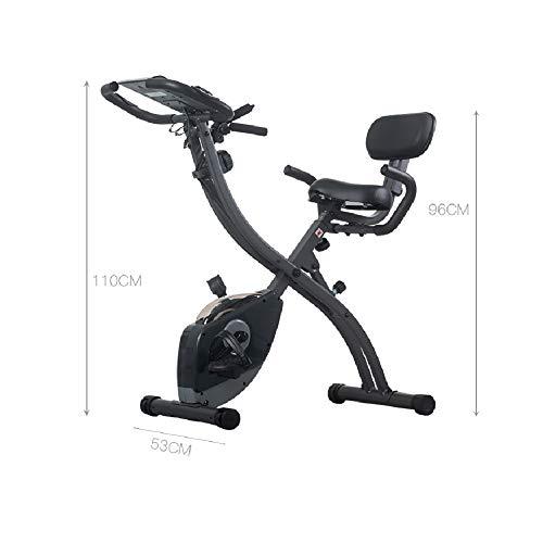 Cqing Oefening fiets mute magnetisch gecontroleerde opvouwbare fiets indoor hometrainer sport BIKE