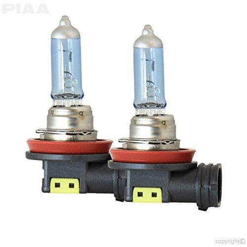 PIAA 23-10108 Xtreme White Hybrid H8 Bulb (3900K - 12V 35W), 2 Pack
