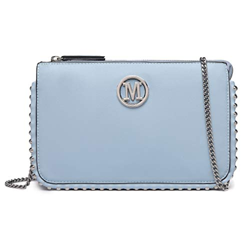 Miss Lulu Clutches borsetta borsa catena Modello M Piccola borsa...