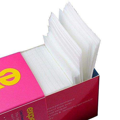 AIUIN 325PCS Carré Cellulose Tissu non tissé 5 * 5cm pour Nail Art Ongle Manucure
