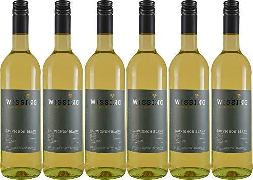Weinkellerei Emil Wissing Sauvignon Blanc 2019 Trocken (6 x 0.75 l)