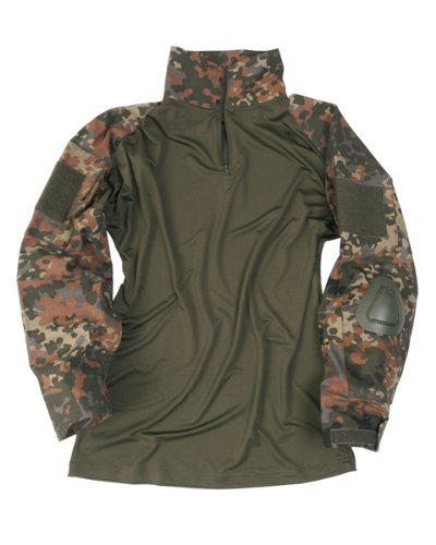 Tactical Hemd Warrior flecktarn, Größe:XXL by Mil-Tec