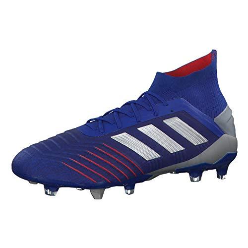 Adidas Herren Predator 19.1 Fg Fußballschuhe, Mehrfarbig (Azufue/Plamet/Fooblu 000), 42 2/3 EU