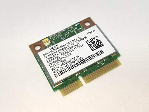 COMPRO PC Tarjeta de Red inalámbrica Combo Bluetooth para Acer Aspire E1-570G-53334G50Mnkk WiFi N y Bluetooth 4.0 ATHEROS QCWB335 733476-001