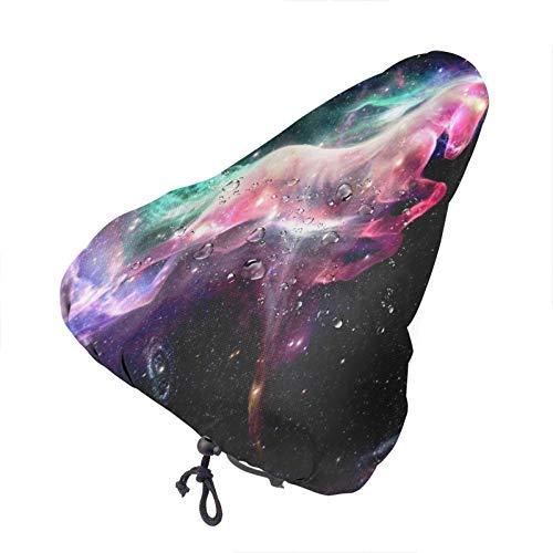 Bong6o Starry Sky Pegasus - Funda para asiento de bicicleta unisex extra suave y duradera
