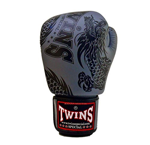 Twins Special Muay Thai MMA K1 Boxing Gloves BGVLA 2 Air Flow Black White Red
