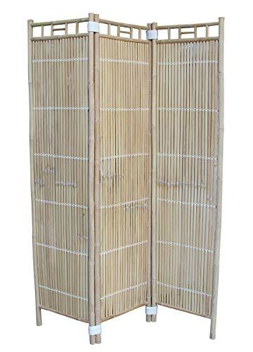 made2trade kamerverdeler van onbehandeld bamboehout - 135x183cm