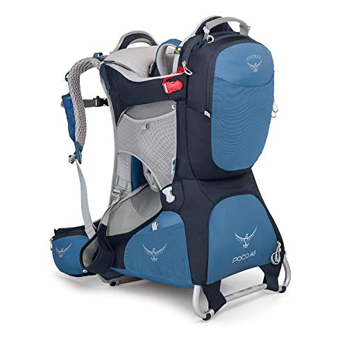 Osprey Poco AG Plus Unisex Hiking Child Carrier Pack - Seaside Blue (O/S)