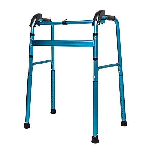 TYXHZL Andador Mayor Andador discapacitado Andador de Cuatro Patas Que Sube y Baja escaleras Arriba Cuesta Arriba Escalada Ajuste automático