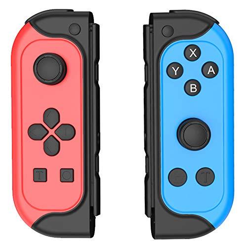 GEEMEE Controller per Nintendo Switch, Bluetooth Wireless Joystick Gamepad Controller Sostituzione Supporto Turbo/Vibrazione/Gyro per Joy con Compatibile con Nintendo Switch Lite