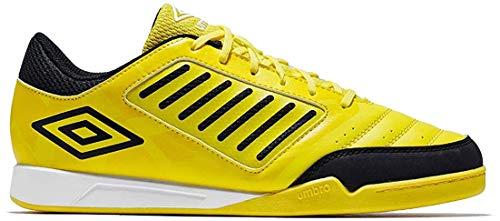 Umbro Chaleira Liga, Zapatillas de fútbol Sala Hombre, Amarillo (Blazing Yellow/Black/White A6c), 40.5 EU