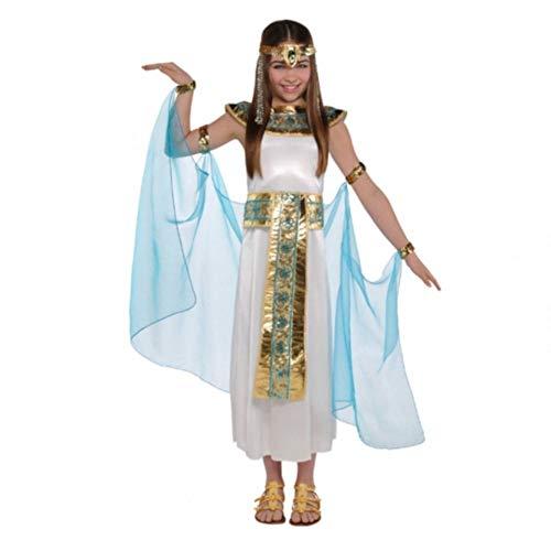 Cleopatra Kostüm für Mädchen, ägyptische Königin, Buchwoche, Kinder-Kostüm