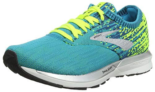 Brooks Women's Mid-Top Running Shoes, Multicolour Blue...
