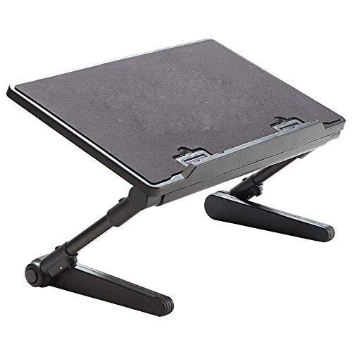 Soporte del ordenador portátil, tabla del ordenador portátil, cama plegable ajustable del escritorio del ordenador portátil, ordenador ergonómico titular de televisión bandeja Permanente turística Tit