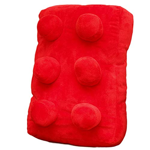 Building Brick Cushion (Red)