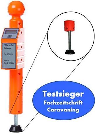 Digitale Stützlastwaage Bis 150kg Orange Caravaning Testsieger Auto