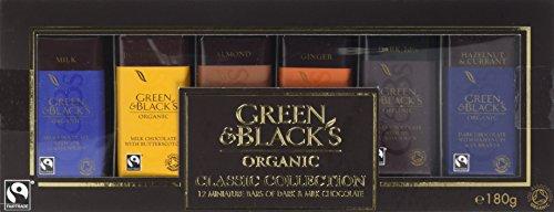 Green & Black's Organic Classic Milk & Dark Miniature Chocolate Gift...