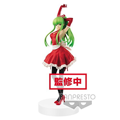Banpresto CODE GEASS Lelouch of the Rebellion EXQ figure C.C. apron style 23cm