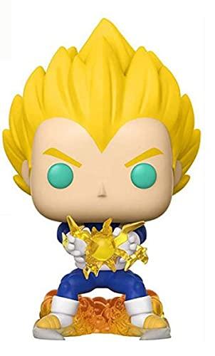 agzhu Pop Dragon Ball Z Super Saiyan Vegeta 669 11Cm Figura Colección Muñeca de Vinilo Modelo Adornos Juguetes Regalo