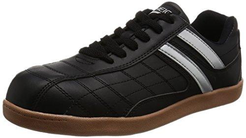 [ヘイギ] 安全靴 セーフティーシューズ 先芯入り スニーカー 作業靴 HG-1516 メンズ ブラック 28 cm