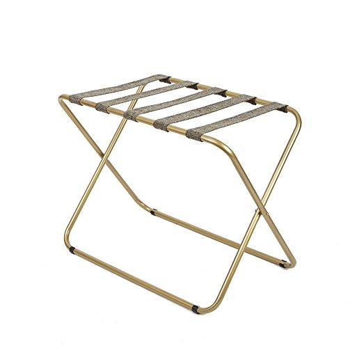 Silverwood Rhys Metal Folding Luggage Rack in Gold
