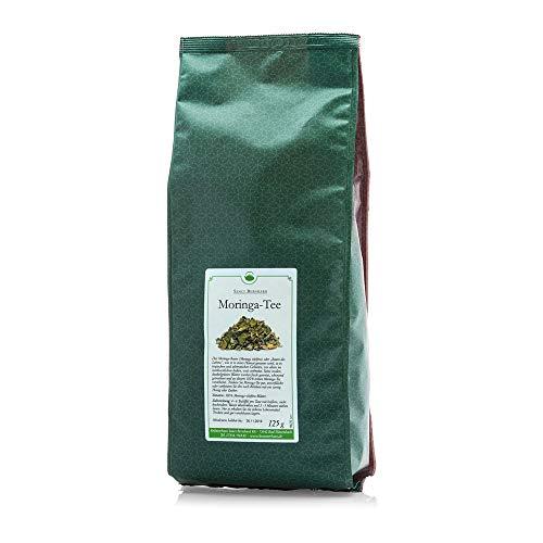 Sanct Bernhard Moringa-Tee 100 % Moringa-oleifera-Blätter, Inhalt 250 g (2 x 125 g)
