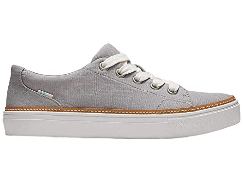 TOMS Alex Drizzle Grey Canvas 8.5 B (M)