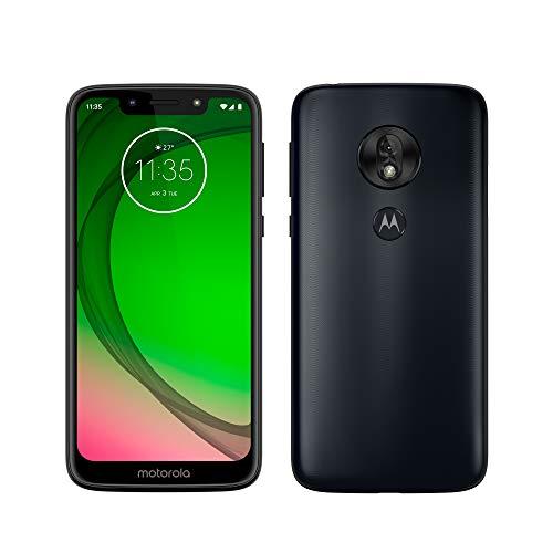 Motorola Moto G7 Play – Smartphone Android 9 (pantalla 5.7   HD+ Max Vision, cámaras trasera 13MP, cámara selfie 8MP, 2GB de RAM, 32 GB, Dual SIM), color azul índigo [Versión española]