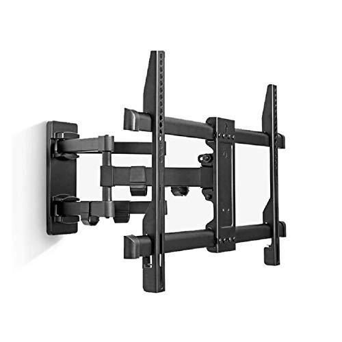 Soporte de Pared para TV 40-49 Pulgadas LCD LCD Pantalla Curvada Plana, soplón Giratorio Montaje de TV Montaje Completo, Brazos duales sólidos Fuertes sólidos para 45 kg (Color : Black)