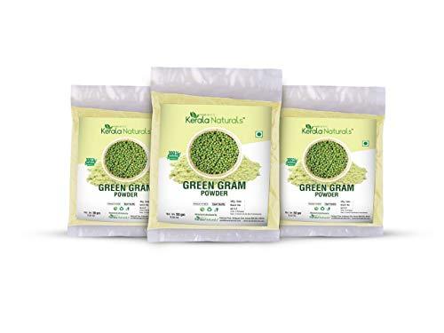 Kerala Naturals Green Gram Powder 150gm - Natural Substitute for Soap