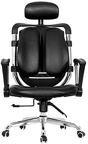 SJZLMB Gaming Chair,Rolling Swivel Office Chair High Back Computer Game Chair With Armrest PU Leather Recliner Heavy Duty Big And Tall Racing Chair For Adults Women Men
