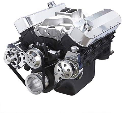 Chevy Big Bock Serpentine Kit Super-cheap Appl - Power Alternator Steering Animer and price revision