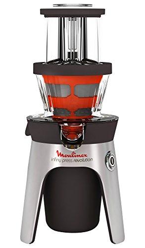 Moulinex ZU500A10 Infinity Press Revolution Licuadora eléctrica, 250 W, Acero Inoxidable, plástico, Gris
