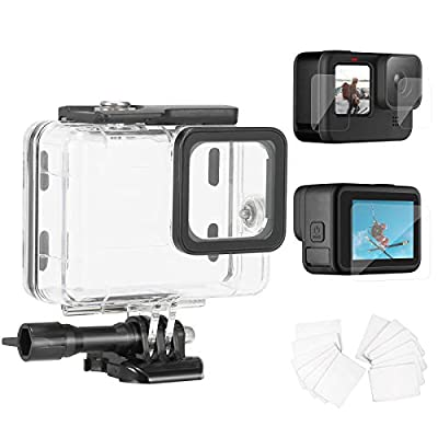 Trehapuva Waterproof Housing Case for GoPro Action Sports Cameras from Trehapuva
