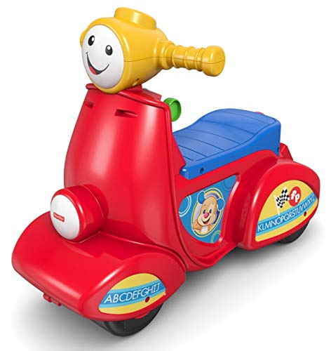 Fisher-Price - Moto de Juguete «Ríe y Aprende» para bebés