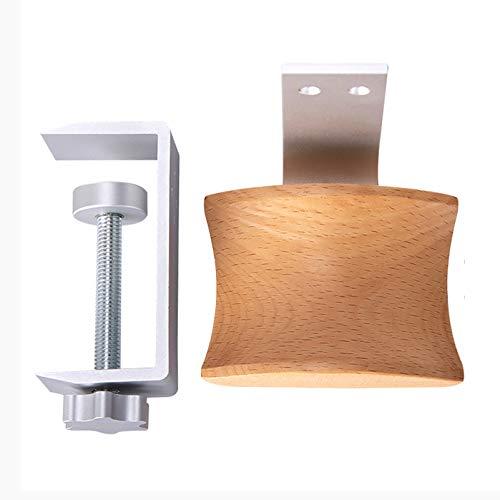 ANANNA Hörlurshängare hållare headset krok under skrivbord justerbar skrivbord hörlurar hållare krok montering monitor stativ hållare hängare krok hörlurar konsol