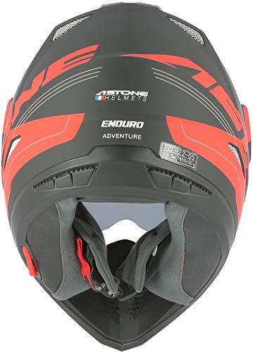 Astone Helmets tourer-advbrl Kopfhörer Tourer Adventure, Grau/Schwarz, M - 4
